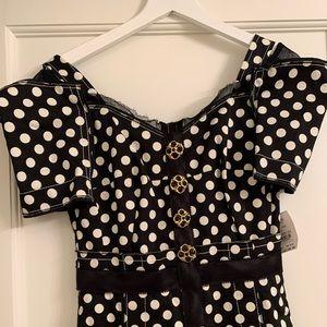 Dolce & Gabbana Polka Dot Print Dress size40/6